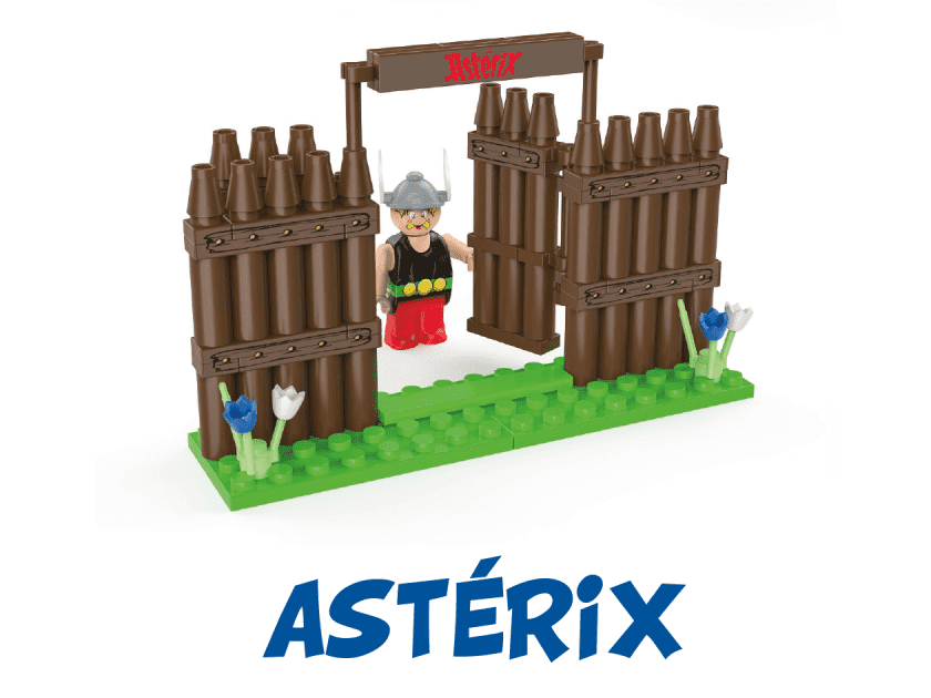 Astérix débarque de nouveau chez Lidl (bloc-jeu de construction) 8e832a10