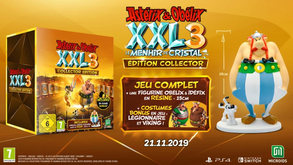 Figurine Obélix XXL3 collector Ac314310