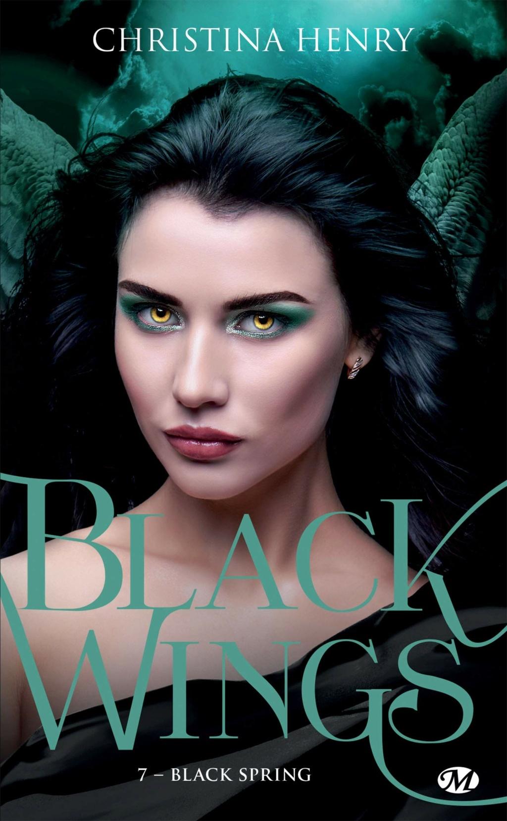 Black Wings - Tome 7 : Black Spring de Christina Henry Black-11