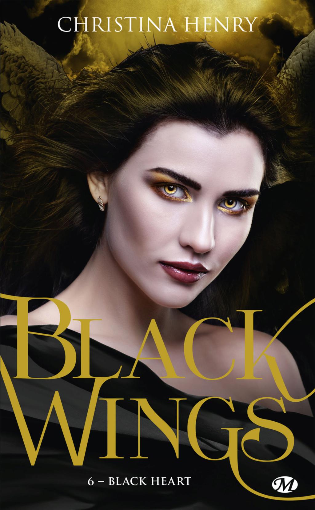 Black Wings - Tome 6 : Black Heart de Christina Henry Black-13