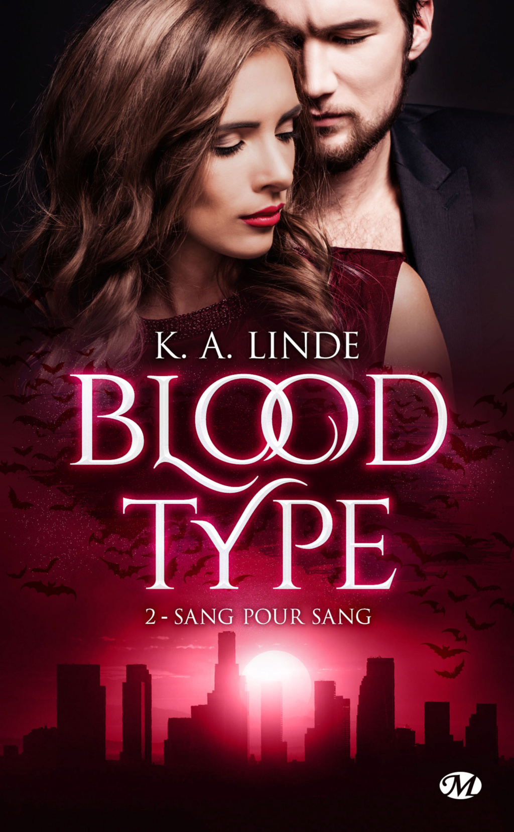 Blood Type - Tome 2 : Sang pour sang de K. A. Linde Blood-12