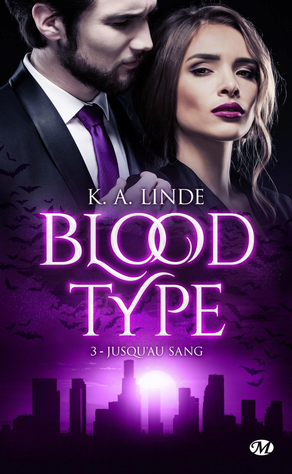 Blood Type - Tome 3 : Jusqu'au sang de K. A. Linde Blood-14