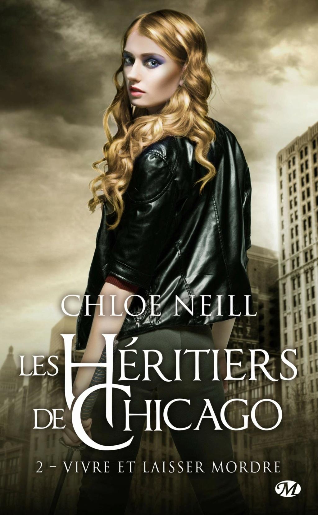 Les héritiers de Chicago - Tome 2 : Vivre et laisser mordre de Chloé Neill Les-he10