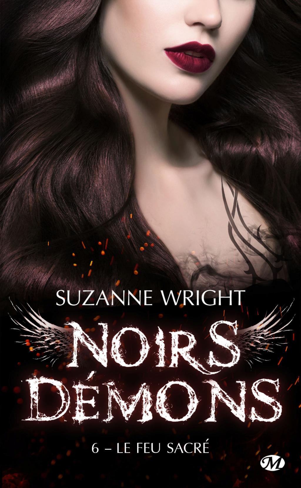 Noirs Démons - Tome 6 : Le Feu sacré de Suzanne Wright Noirs-10