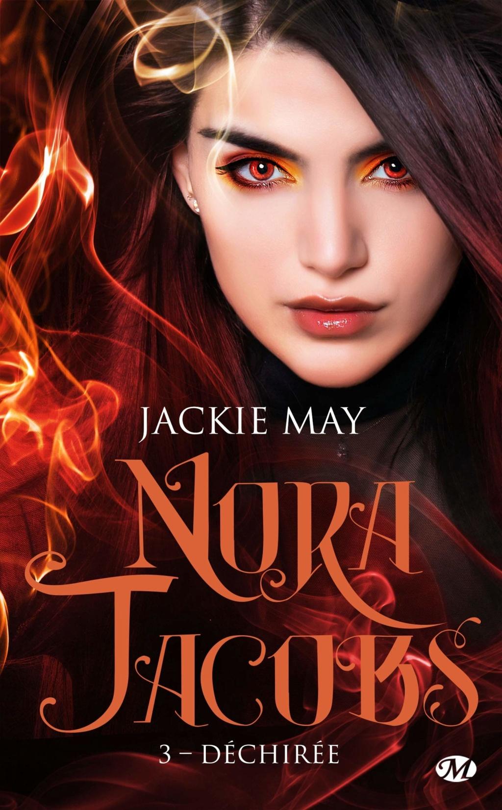 Nora Jacobs - Tome 3 : Déchirée de Jackie May Nora-j10