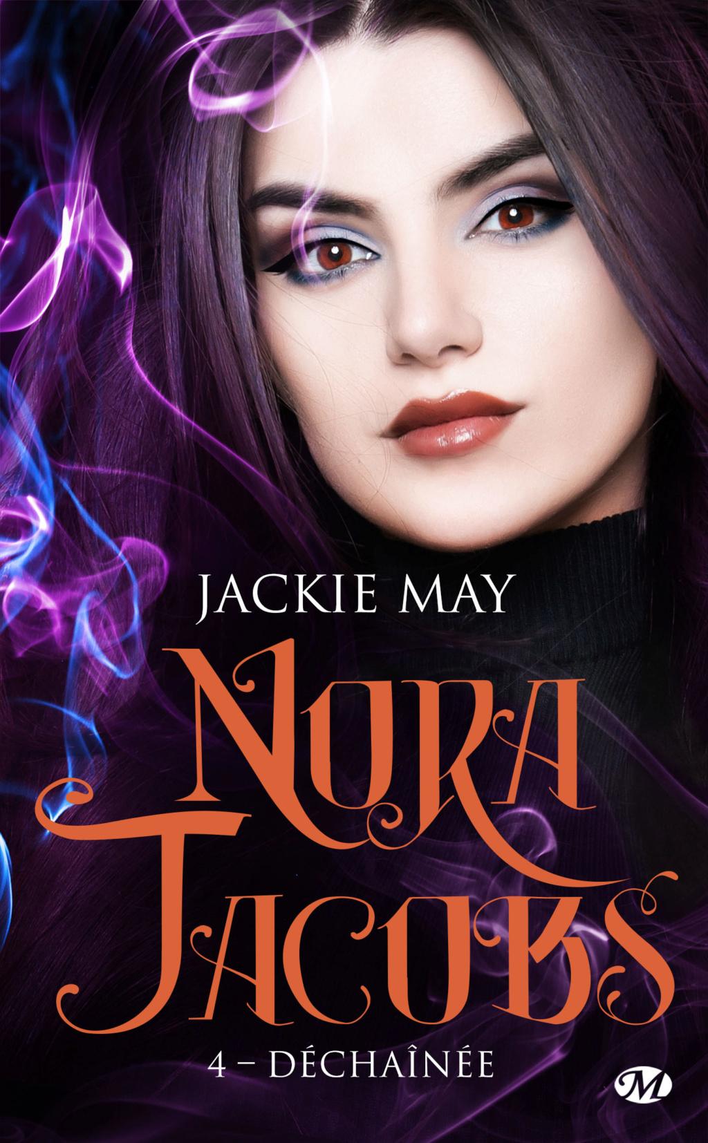 Nora Jacobs - Tome 4 : Déchaînée de Jackie May Nora-j10