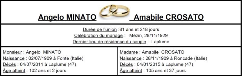 E- LES PLUS LONGS MARIAGES FRANÇAIS - Page 2 Image_74