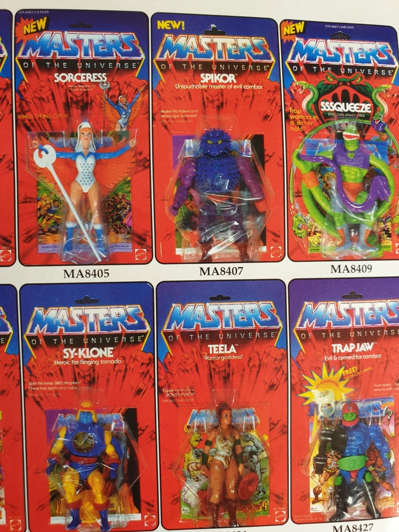 Les Maîtres de l'Univers (Musclor) - gamme de jouet VINTAGE - Page 3 20200223