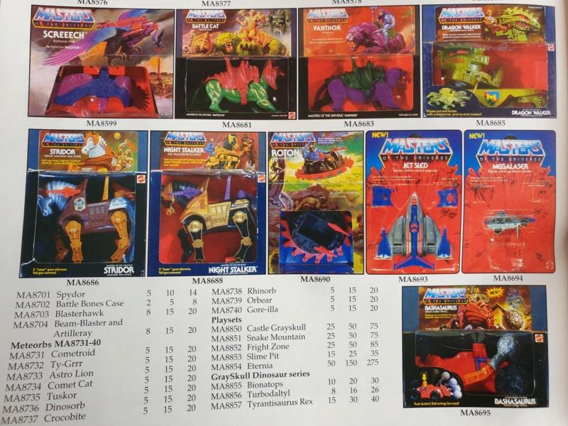 Les Maîtres de l'Univers (Musclor) - gamme de jouet VINTAGE - Page 3 20200225