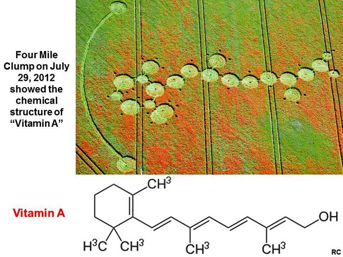 Crop Circles y Tratamiento de Neuroblastoma Vitami10