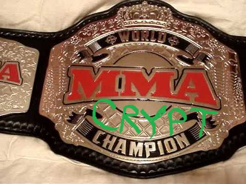 MMA CRYPT Prediction Contest SEASON 1 Belt_110
