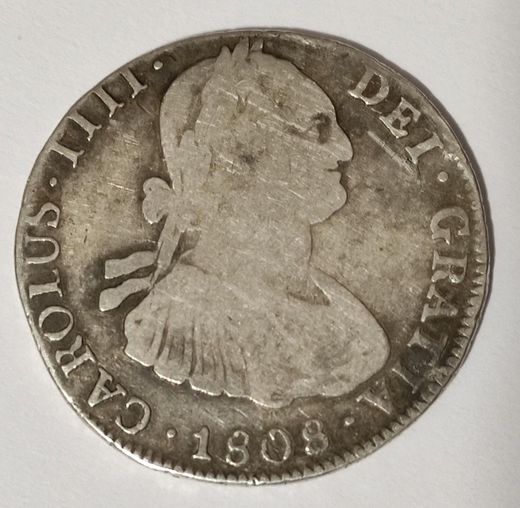 4 reales 1808 Potosí Carlos IIII R264re13