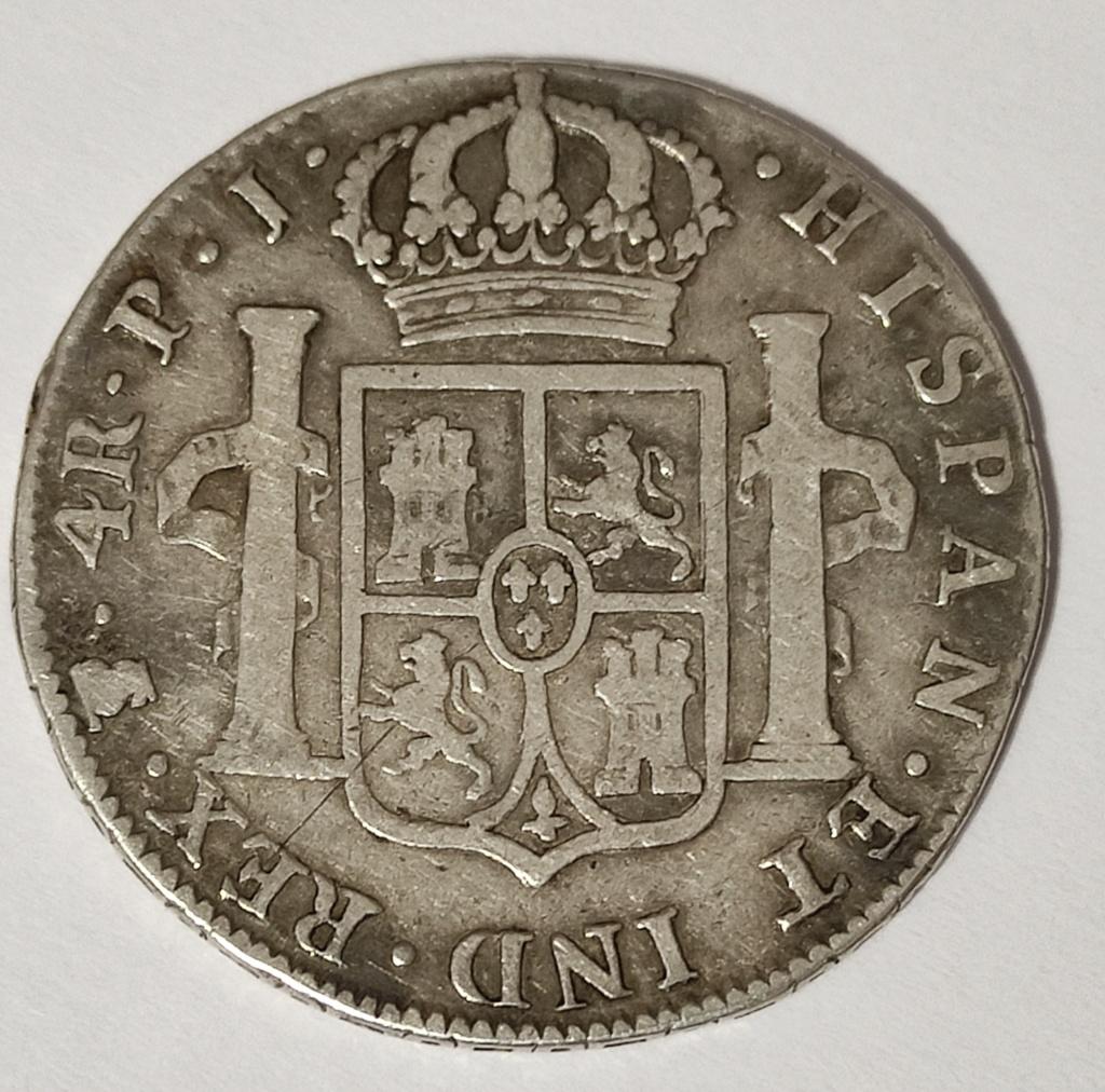 4 reales 1808 Potosí Carlos IIII R264re14