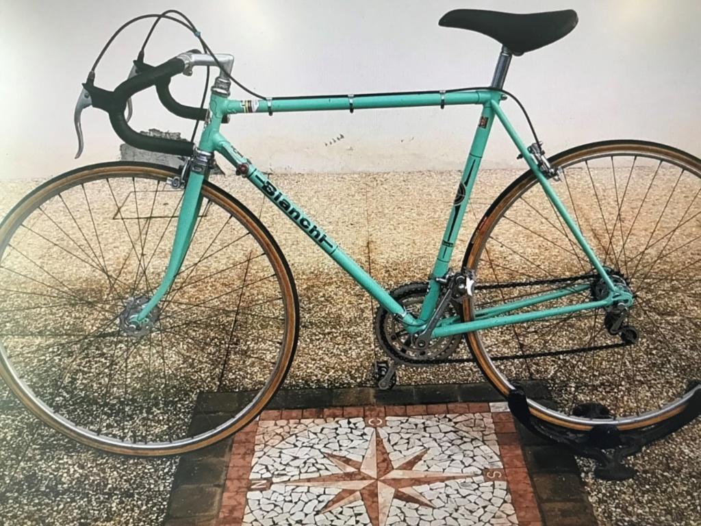 Identification vélo bianchi 110