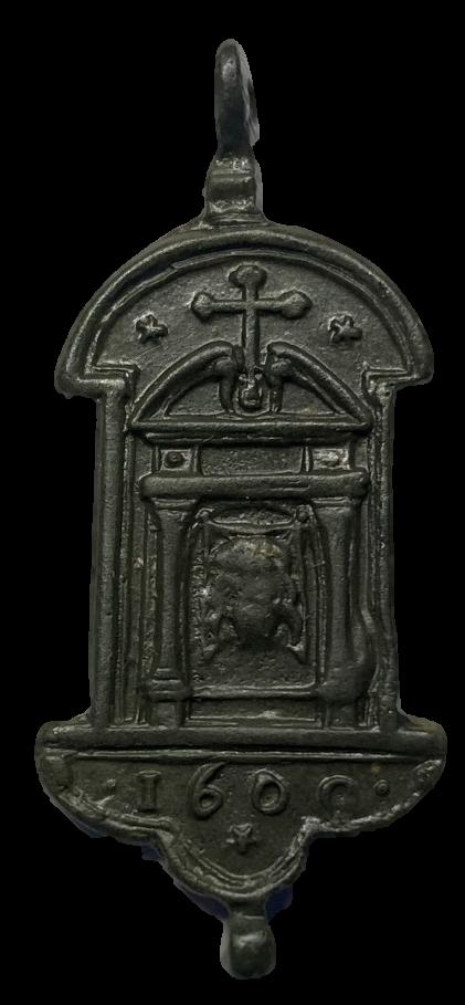 Medalla orden Franciscana Bbb_310