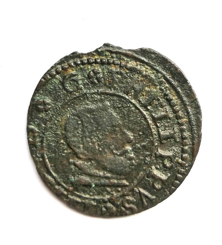 16 maravedis 1664 Felipe IV de Madrid Whatsa63