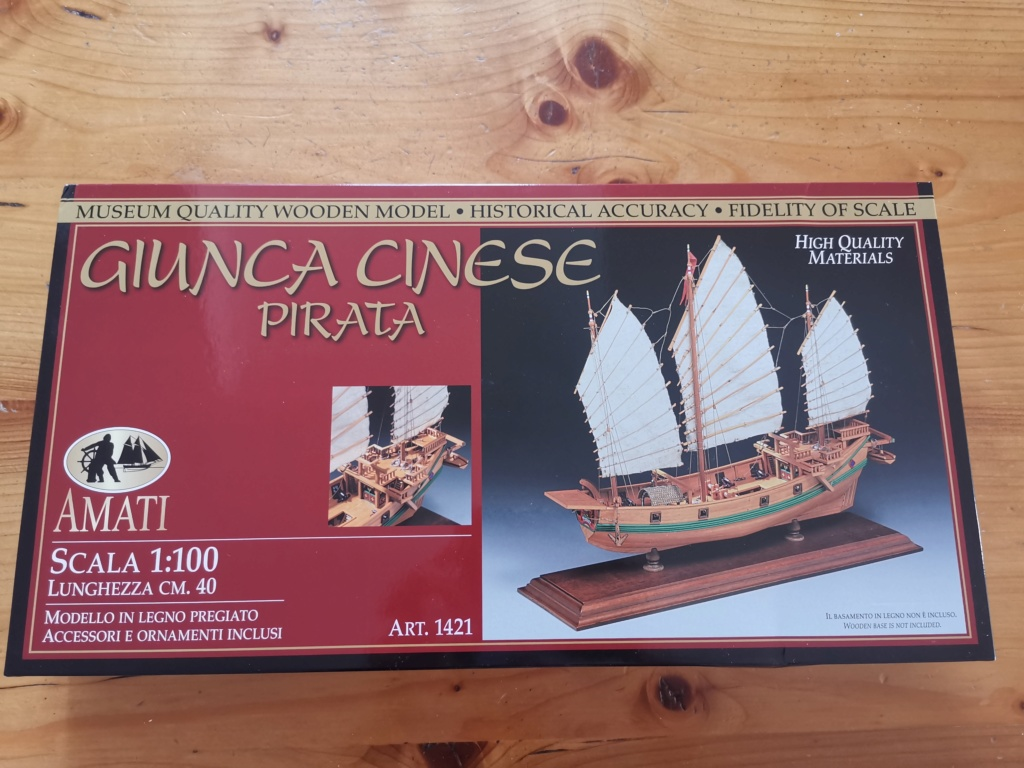 Jonque Pirate Chinoise , 1/100 - AMATI Bozyte11