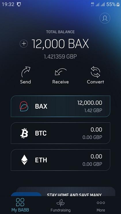 BABB wallet 12 000 BAX możliwość zamiany na BTC lub ETH!! 1_78bq10