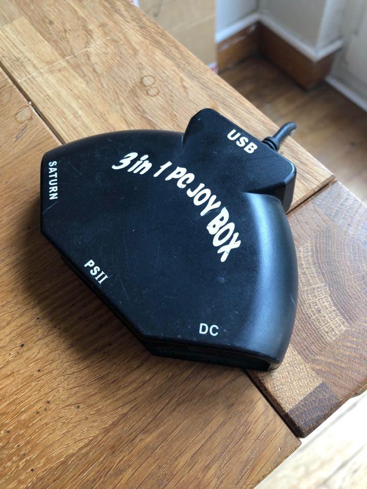 Adaptateur Saturn PS2 DC pour PC 11910010
