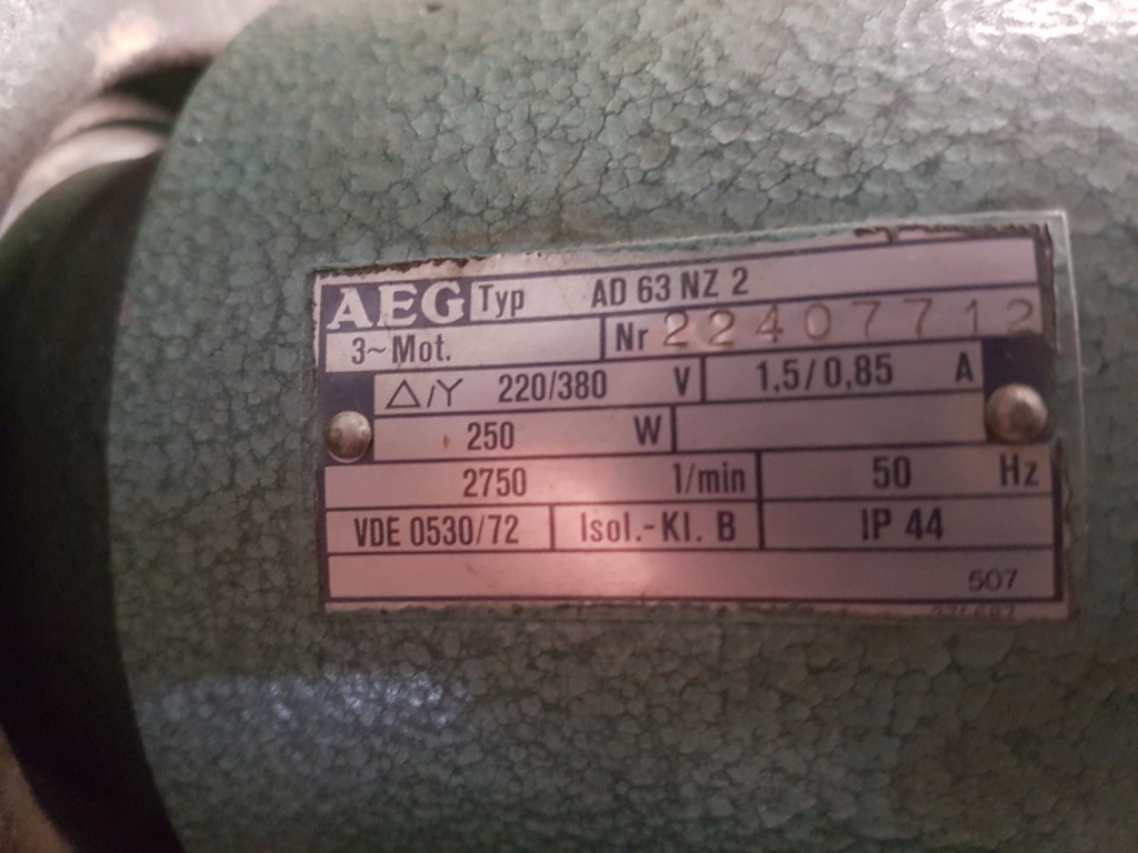 passer du 380v au 220v moteur défonçeuse 20200410