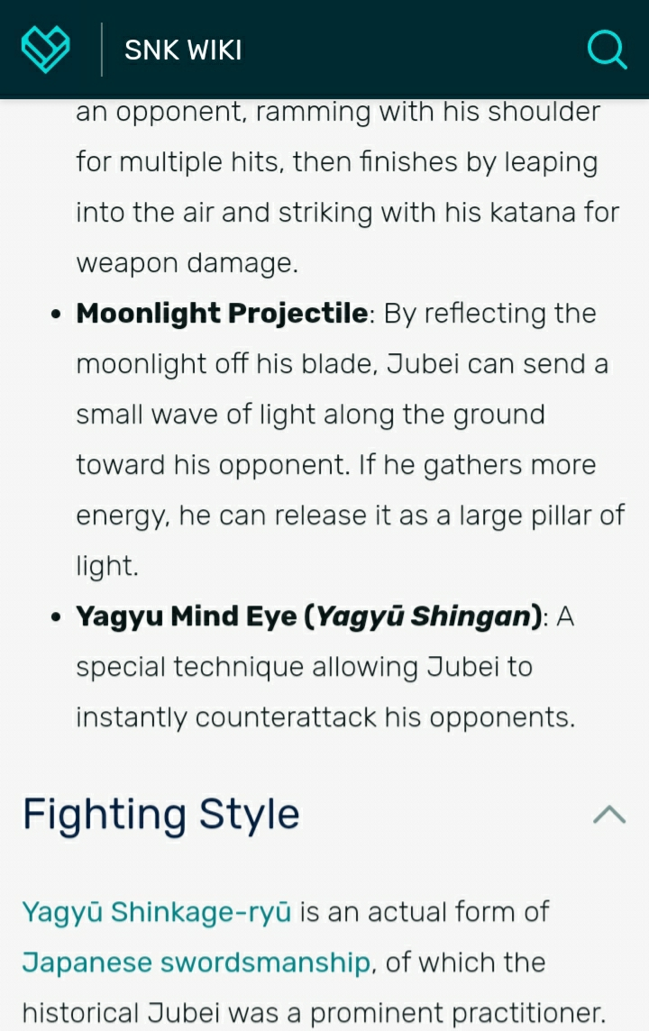 Jubei Yagyû Samurai Spirits II Screen24