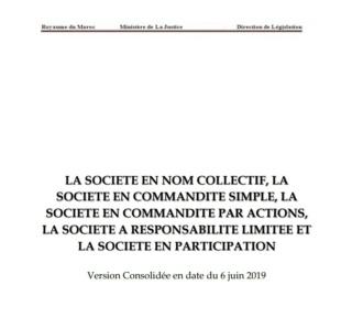 La loi de : SNC SCS SCA SARL SP Snc_sc10