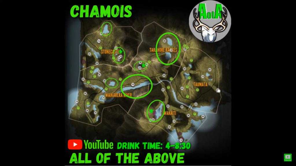 Localizacion animales TE AWAROA Chamoi10