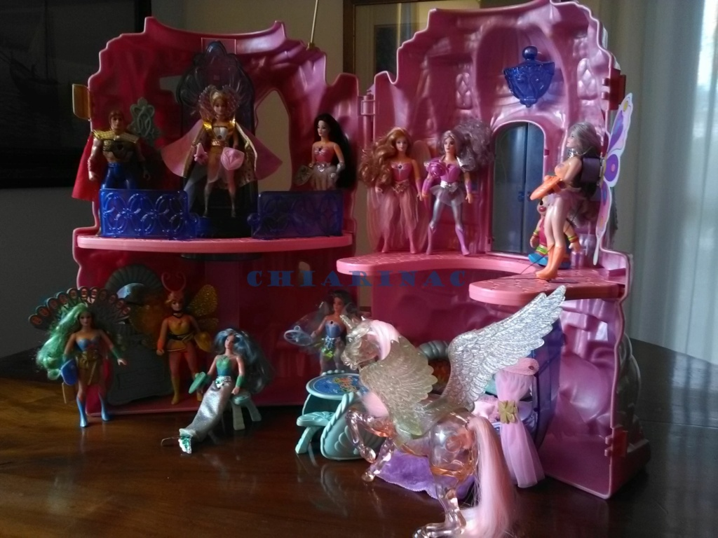 Vendo favoloso lotto She-Ra Princess of Power / Principessa del potere Mattel (Crystal Castle, 10 personaggi, 2 creature, Fantastic Fashions) Img_2075