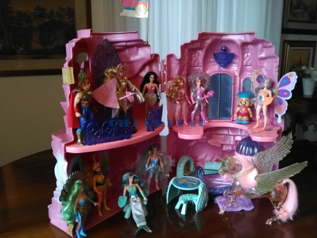 Vendo favoloso lotto She-Ra Princess of Power / Principessa del potere Mattel (Crystal Castle, 10 personaggi, 2 creature, Fantastic Fashions) Img_2079