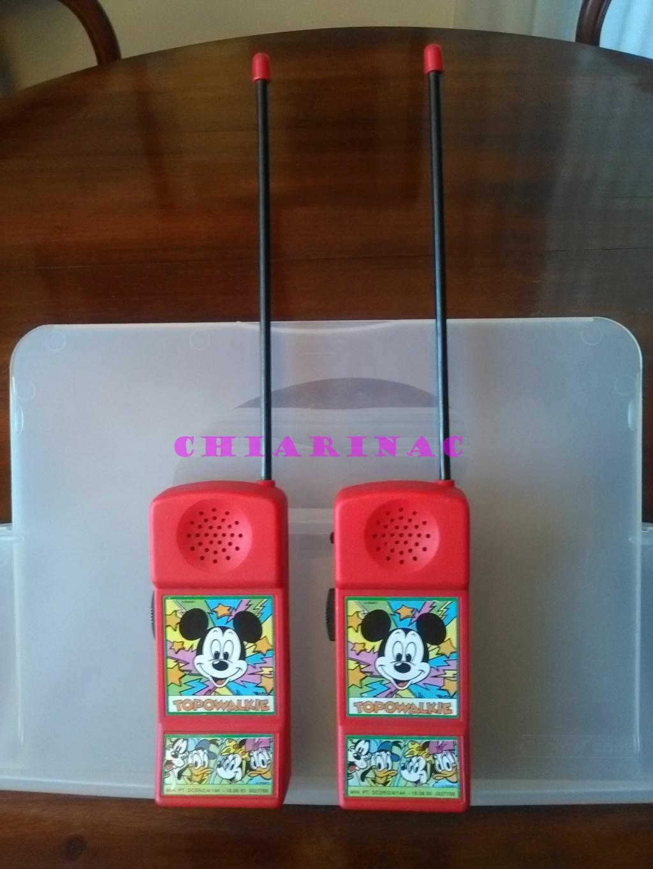 Topowalkie coppia, gadget allegato a Topolino luglio 1993 Img_2082