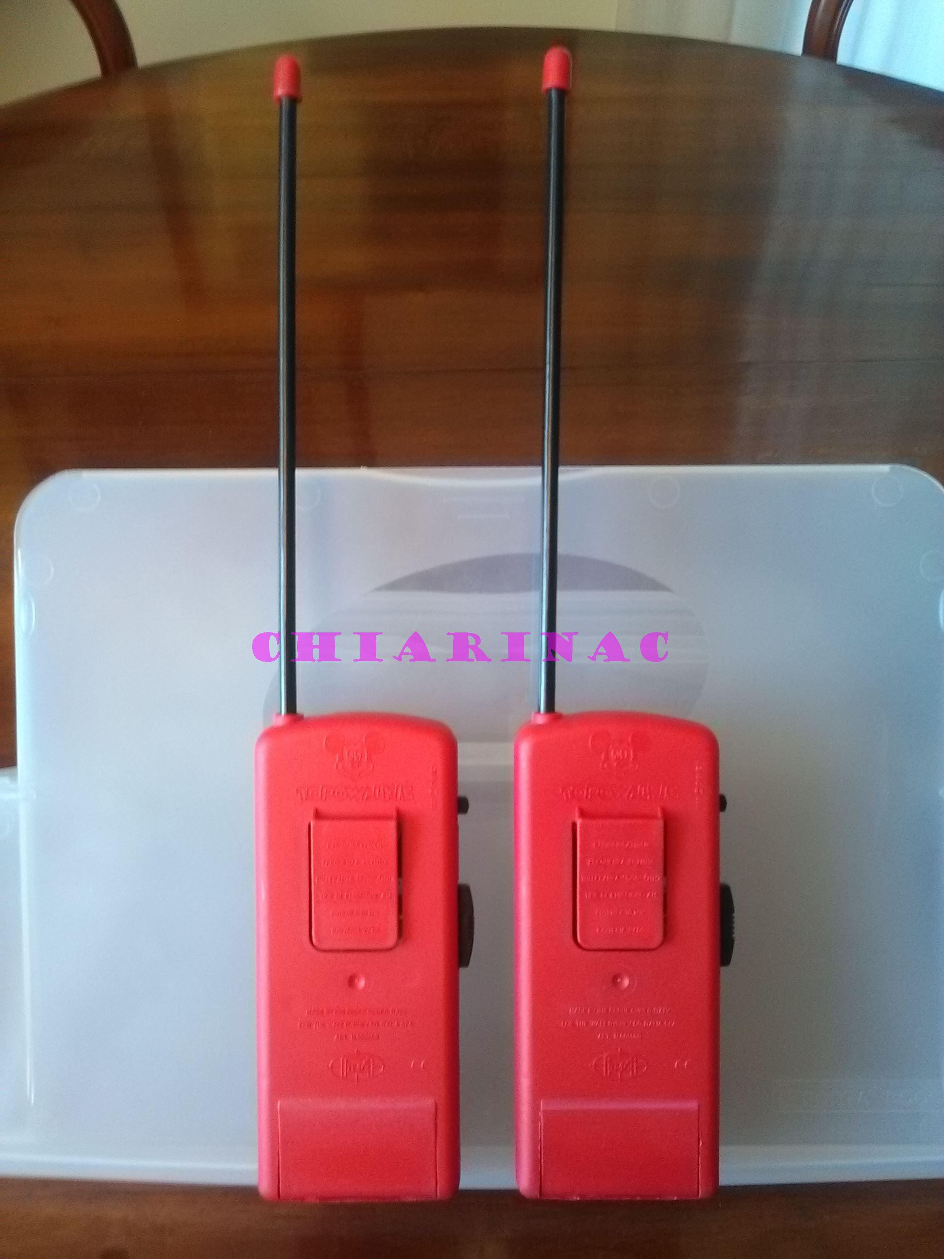 Topowalkie coppia, gadget allegato a Topolino luglio 1993 Img_2084