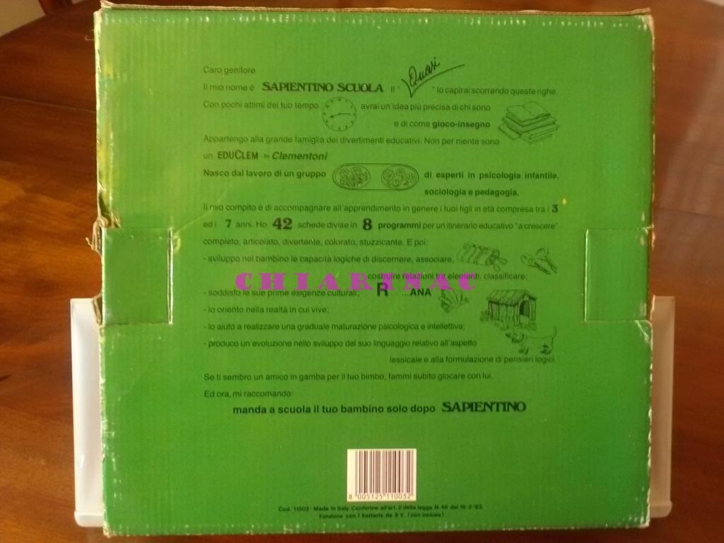 Sapientino Quasi Scuola Clementoni anni '80 Img_2088