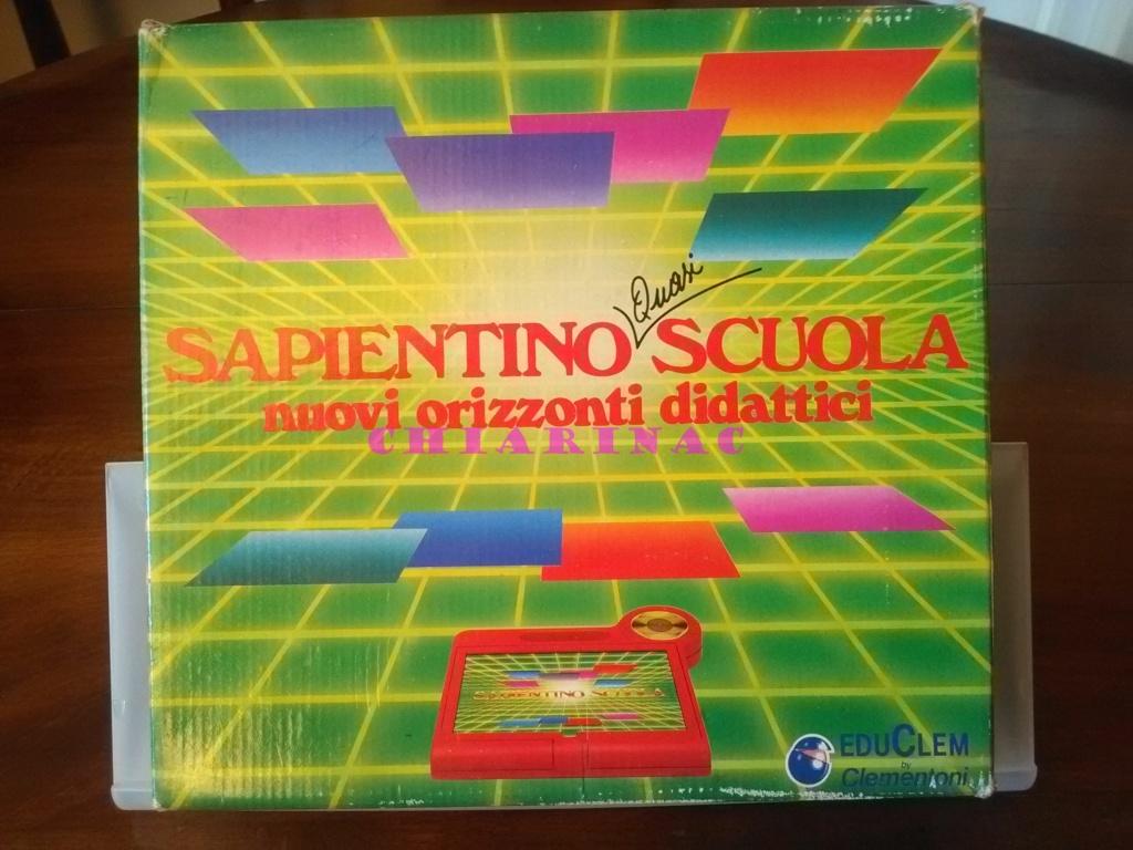 Sapientino Quasi Scuola Clementoni anni '80 Img_2089