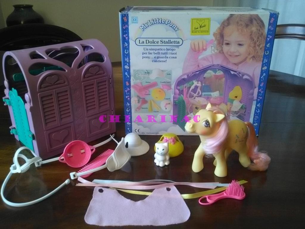 Vendo lotto Mio Mini Pony / My Little Pony Generazione 1 (G1) Gig Hasbro anni '80 (due playset e otto pony, anche rari; tutto supercompleto!) Img_2098