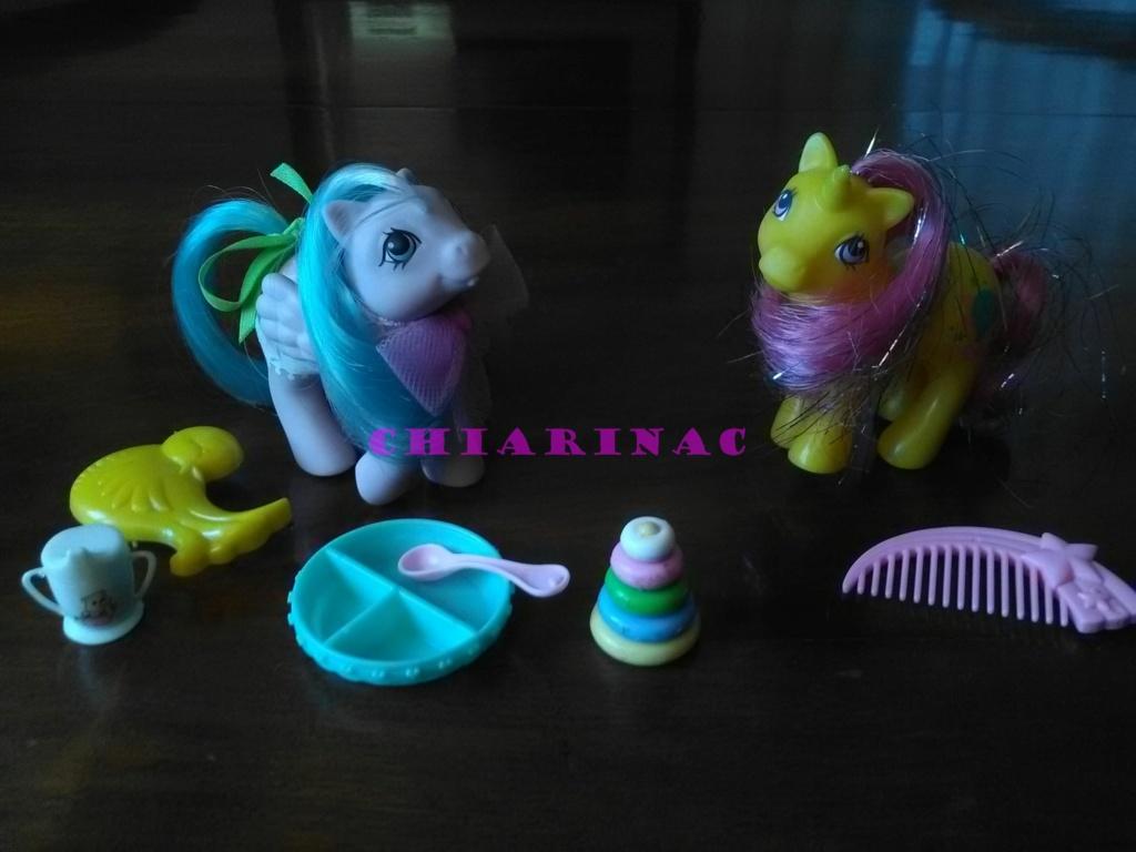 Vendo lotto Mio Mini Pony / My Little Pony Generazione 1 (G1) Gig Hasbro anni '80 (due playset e otto pony, anche rari; tutto supercompleto!) Img_2111