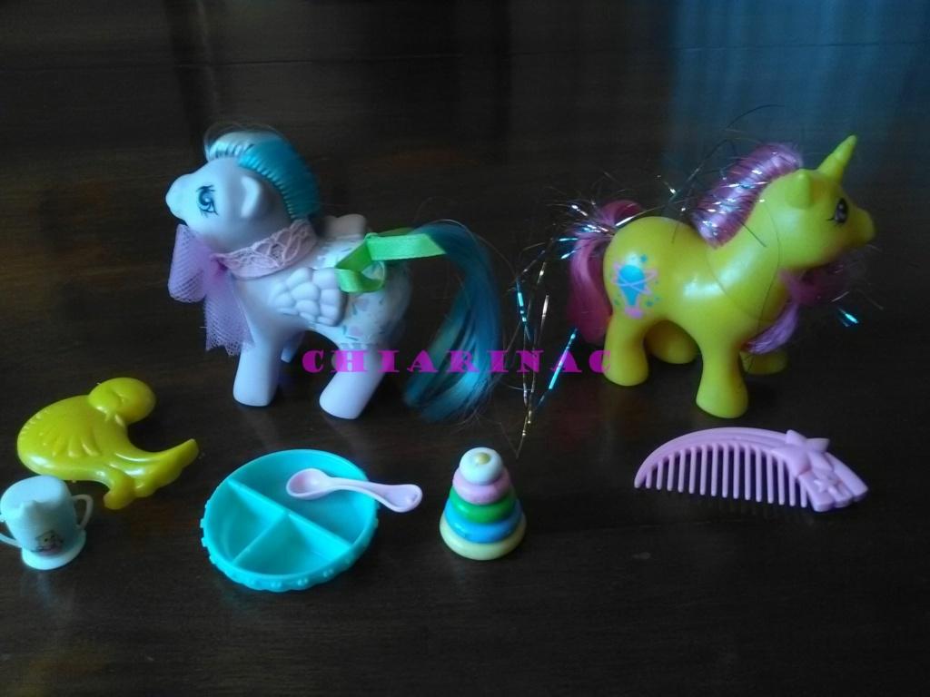 Vendo lotto Mio Mini Pony / My Little Pony Generazione 1 (G1) Gig Hasbro anni '80 (due playset e otto pony, anche rari; tutto supercompleto!) Img_2112