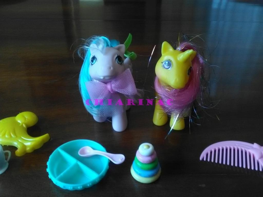 Vendo lotto Mio Mini Pony / My Little Pony Generazione 1 (G1) Gig Hasbro anni '80 (due playset e otto pony, anche rari; tutto supercompleto!) Img_2113