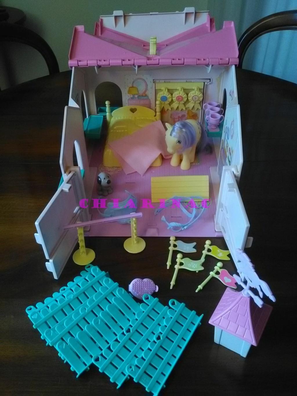 Vendo lotto Mio Mini Pony / My Little Pony Generazione 1 (G1) Gig Hasbro anni '80 (due playset e otto pony, anche rari; tutto supercompleto!) Img_2116