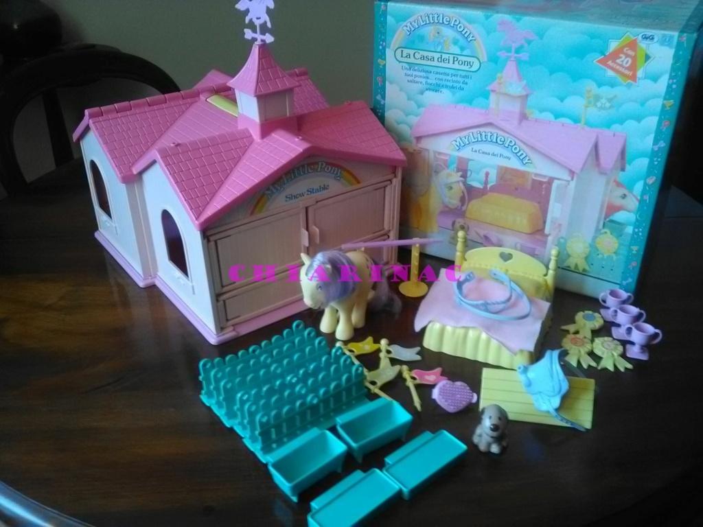 Vendo lotto Mio Mini Pony / My Little Pony Generazione 1 (G1) Gig Hasbro anni '80 (due playset e otto pony, anche rari; tutto supercompleto!) Img_2120