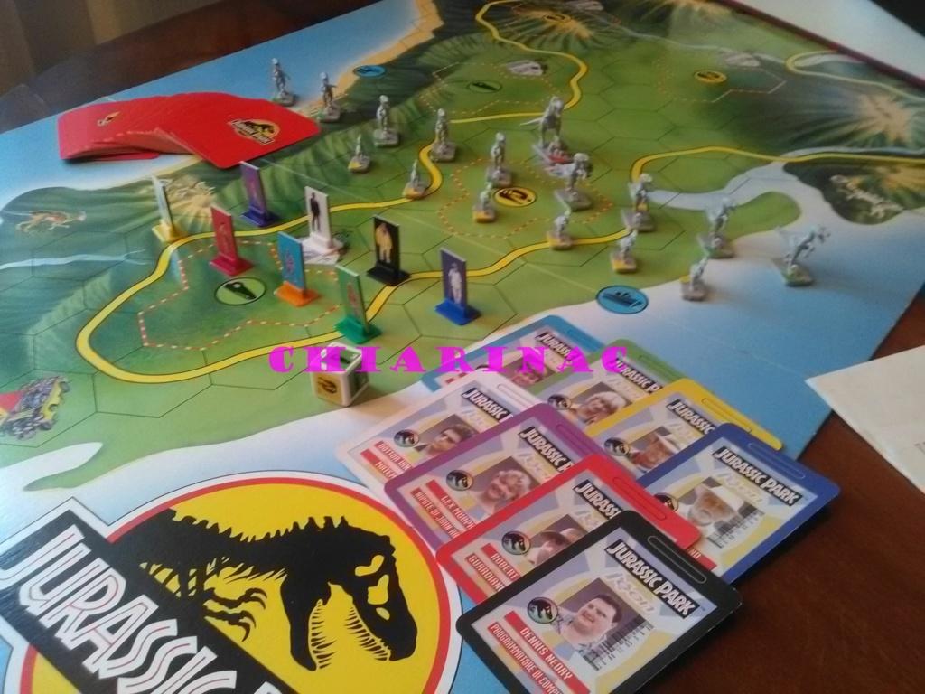 Jurassic Park Game, gioco da tavolo Parker 1993 Img_2124