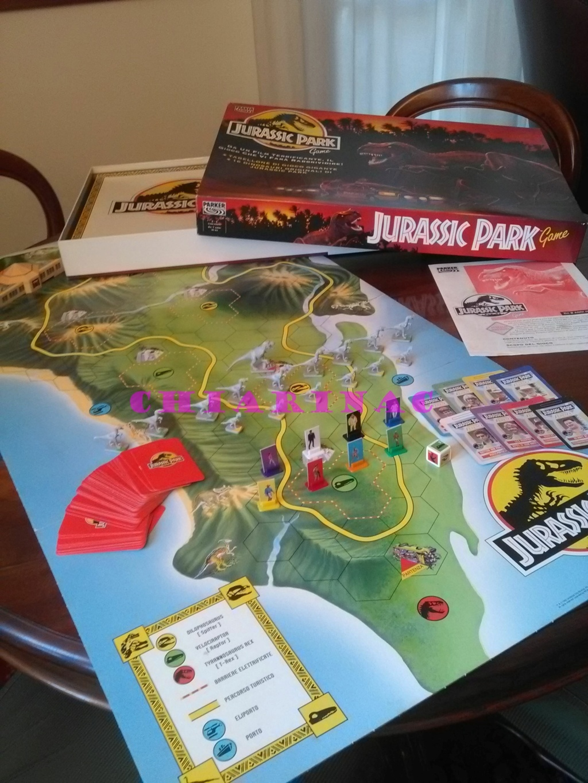 Jurassic Park Game, gioco da tavolo Parker 1993 Img_2125