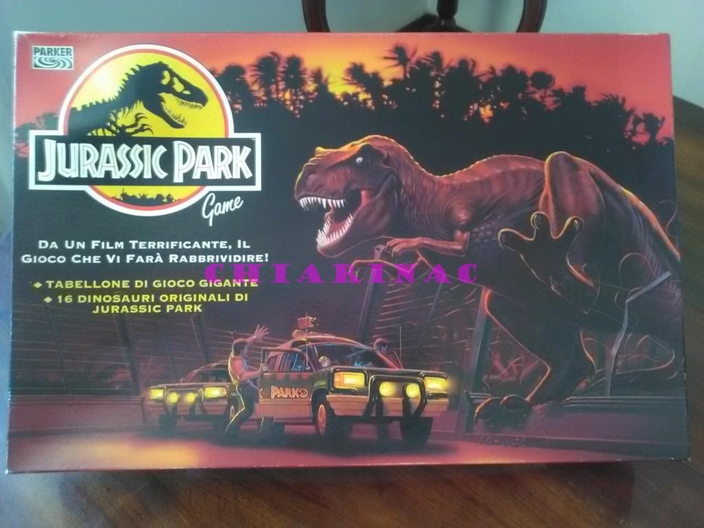 Jurassic Park Game, gioco da tavolo Parker 1993 Img_2126