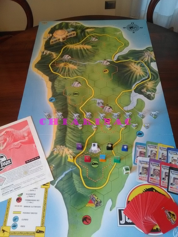 Jurassic Park Game, gioco da tavolo Parker 1993 Img_2128
