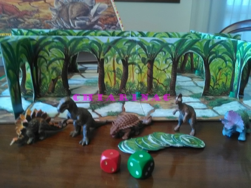 Esploriamo la Preistoria gioco da tavolo Editrice Giochi anni '90 Img_2130