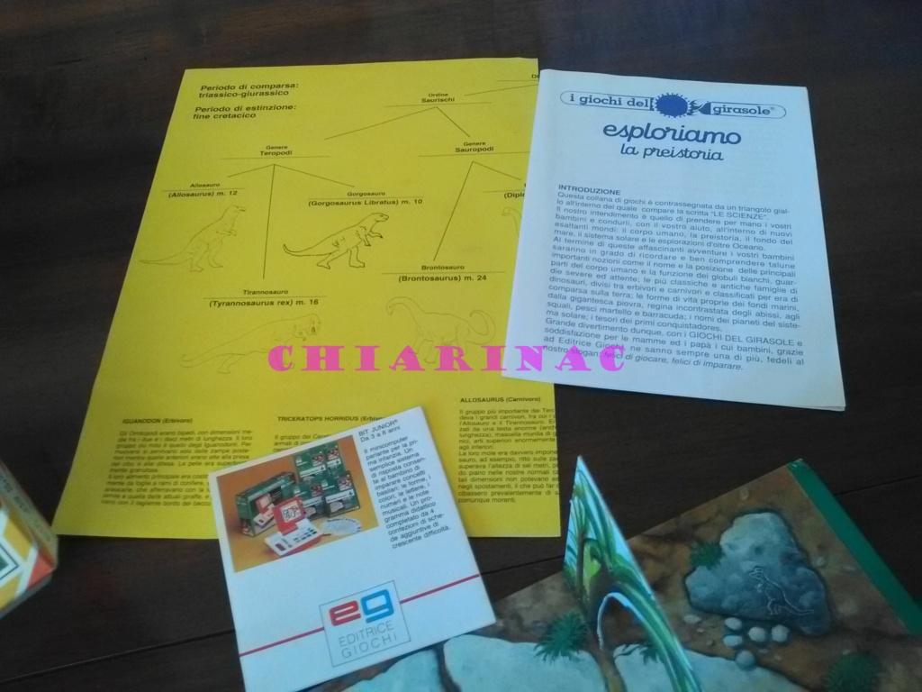 Esploriamo la Preistoria gioco da tavolo Editrice Giochi anni '90 Img_2132