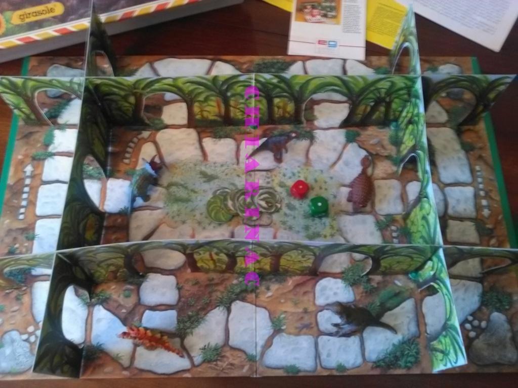 Esploriamo la Preistoria gioco da tavolo Editrice Giochi anni '90 Img_2136