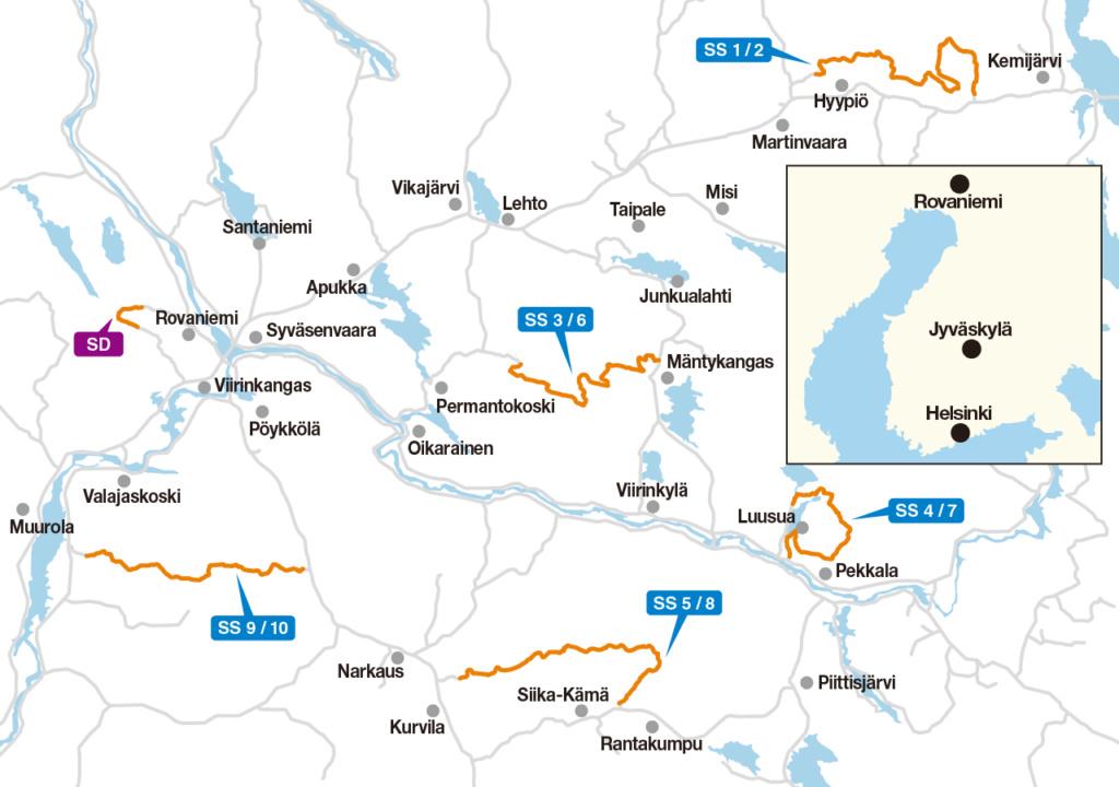 WRC: Arctic Rally Finland - Powered by CapitalBox [26-28 Febrero] - Página 2 Map10