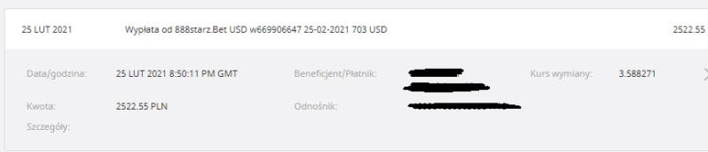 888starz bonus 460 pln Wyplat10