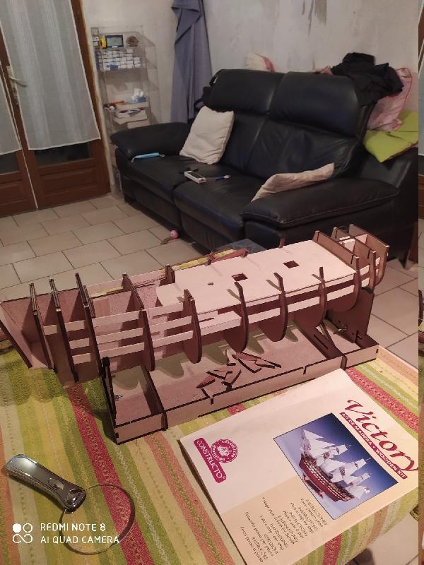 Montage de l'HMS Victory au  1:94 de chez constructo  Img_2013