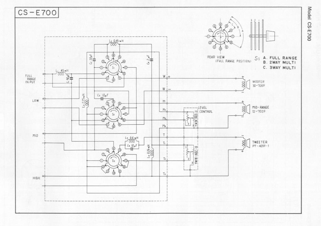 Vintage Pioneer CS-E700 Floor Speakers - Recap ! Pionee10